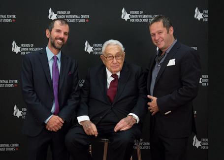 Jonathan Kolber, Henry Kissinger, Ilan Cohen