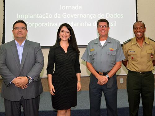 BLR DATA participa da jornada sobre Governança de Dados, realizada pela Marinha do Brasil.