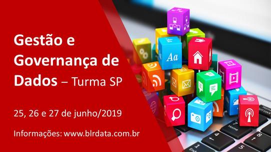 Gestão e Governança de Dados - Inscrições abertas para a turma SP-2019