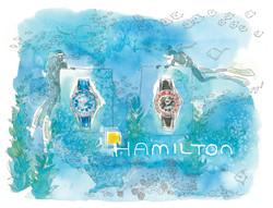 Hamilton diving watch