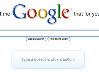We googled it