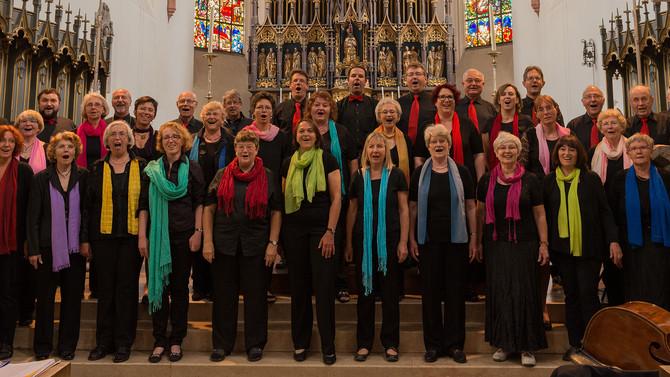 Matinee der Chorgemeinschaft Burghausen am 02.10.2016