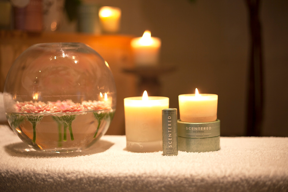 Scentered Candle, Travel Candle & Therapy Balm