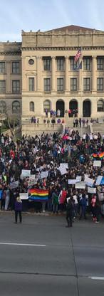 CHS protest against Trump 2016.jpg