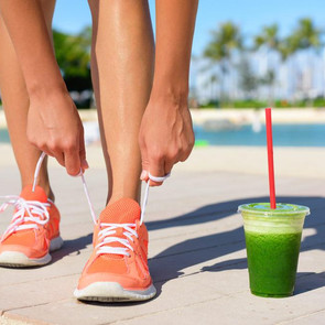 The perfect pre-workout smoothie for athletes with diabetes
