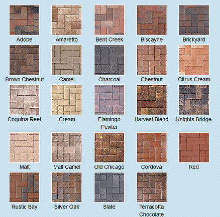 Belgard/Coastal Color Selections