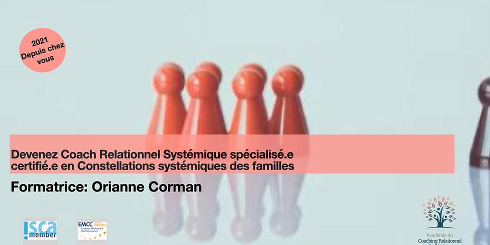 Formation certifiante au Coaching Relationnel Systémique spécialisé en Constellations familiales