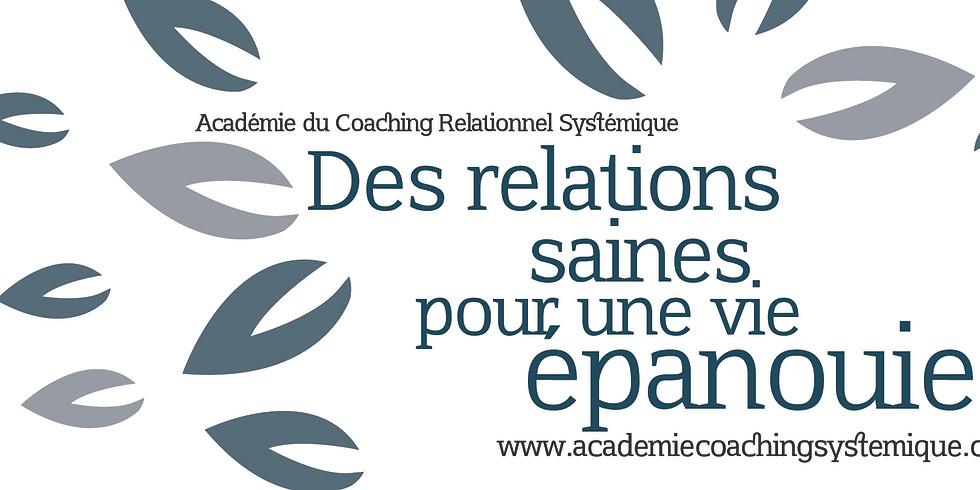 Formation en ligne Coaching Relationnel Systémique -Cohorte Automne 2020