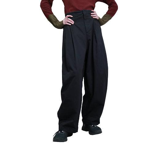 DIRK SCHONBERGER Multi-Tuck Wide Pants
