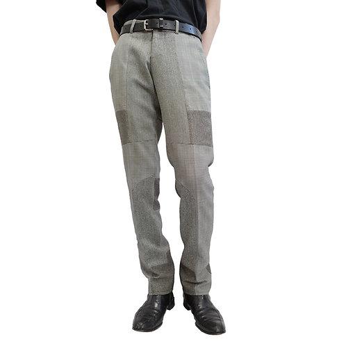 Alexander McQueen Mix Pattern Patchwork Trousers