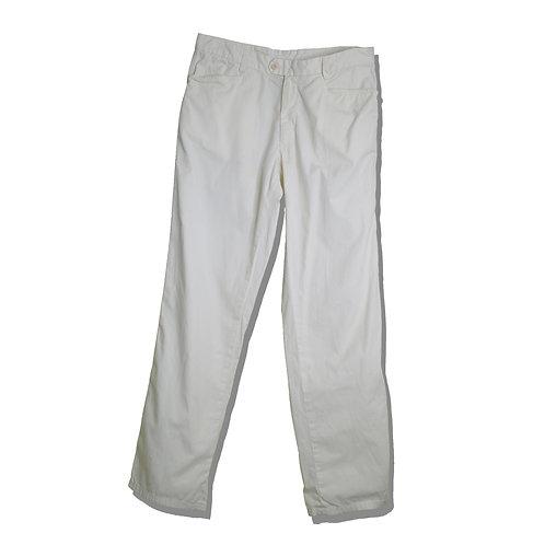 Cotton Semi Wide Trousers