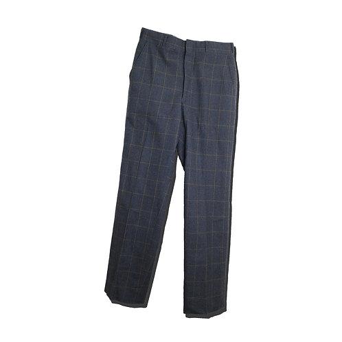 50's Wool Check Slacks