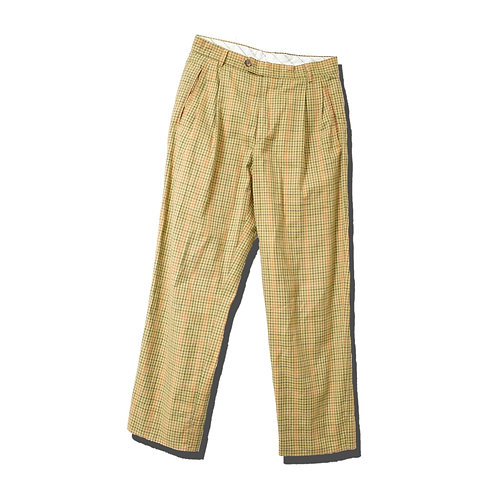 Check Trousers Italy Made