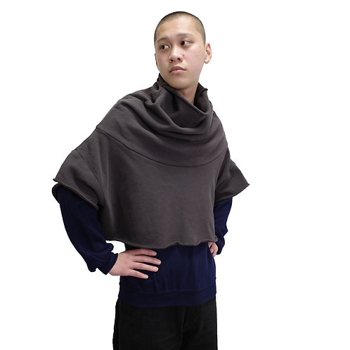 BLESS N°25 Sweater Poncho