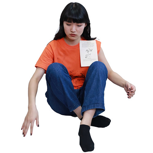 Susan Cianciolo Asymmrtric Pating T-Shirt