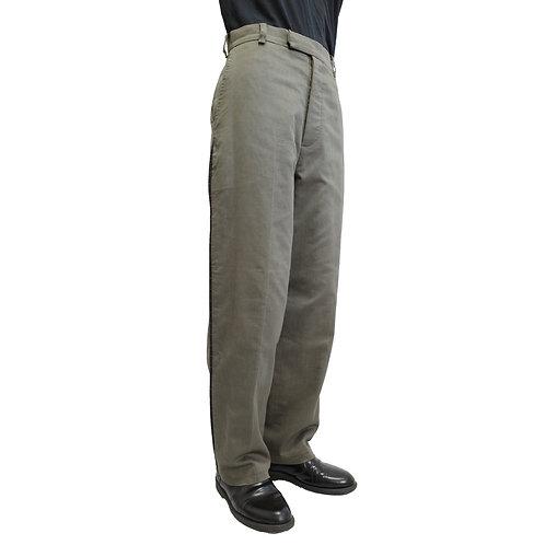 Joe-Casely Hayford Wide Leg Manly Trousers
