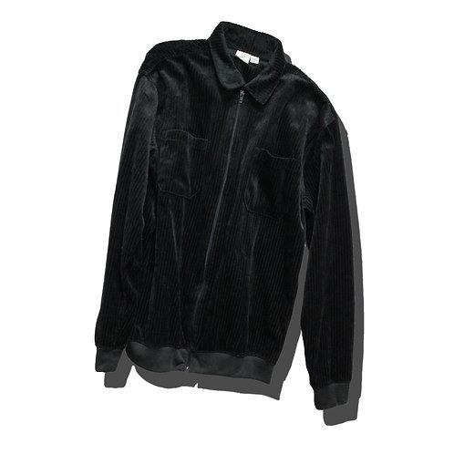 Velours Corduroy Zip Up Jacket