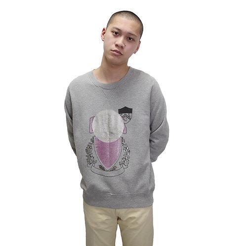 Cosmic Wonder Imaginary Collage Sweatshirt