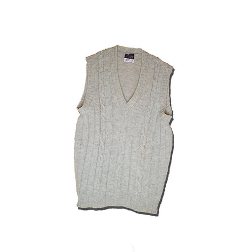 60's~ Knit Vest England Made