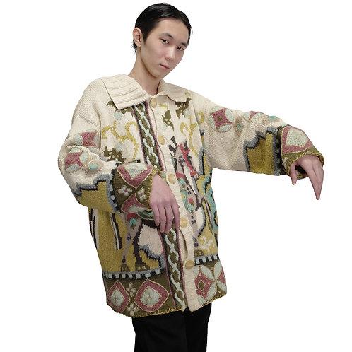 YOSHIYUKI KONISHI Hand Knit Jacket