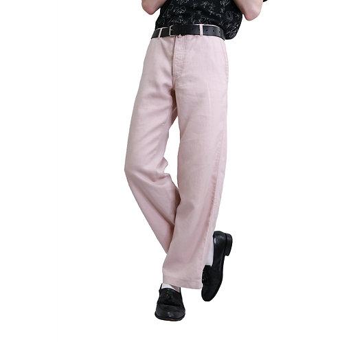 Dries Van Noten Pastel Linen Pants