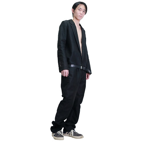 BLESS N°31 Black Tailored Jumpsuit