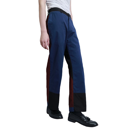 Casey Vidalenc Switching Cotton Broad Pants