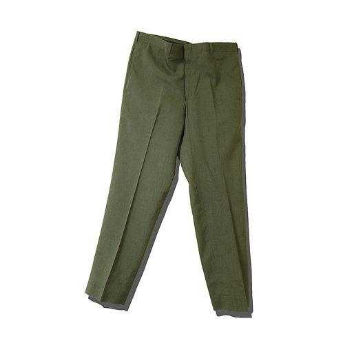 60's~ Sleek Green Slacks