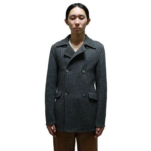 Jil Sander by Raf Simons Smooth Wool Pea Coat