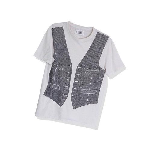 Martin Margiela Beads Gilet T-Shirt