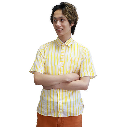 Dries Van Noten Patchy Stripe Shirt