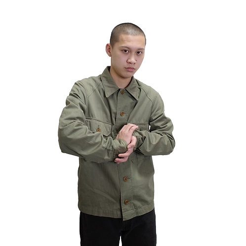 Dries Van Noten Military Shirt Jacket