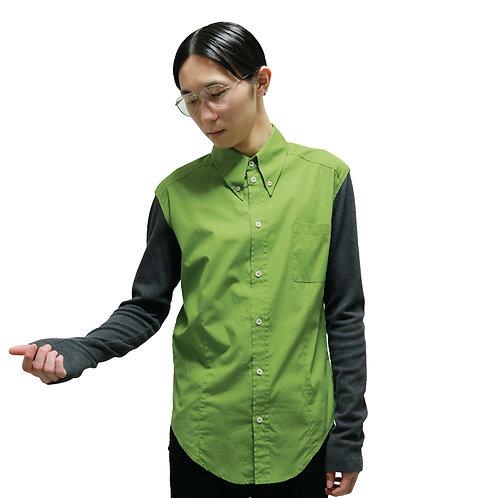 Alexander McQueen Buttondown Switching Shirt