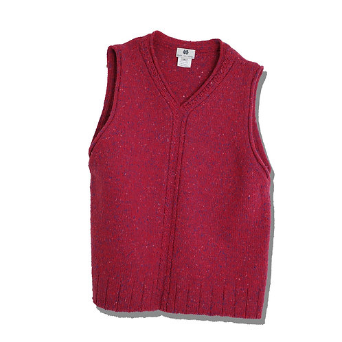 Dries Van Noten Mix Knit Vest