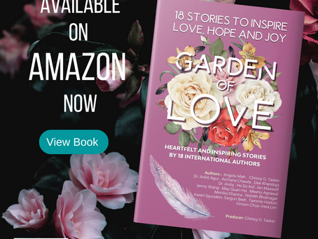 Garden of Love is Live on Amazon now