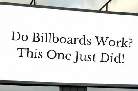 Do billboards work?