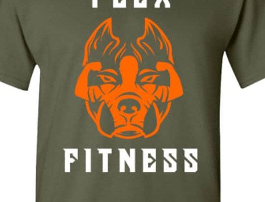 Green and Orange Unisex T-shirt