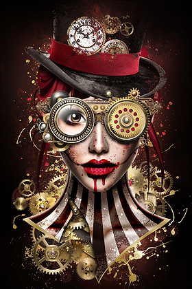 Sarah Borderie - Steampunk