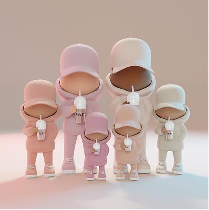LEO & STEPH - KID CUP YEEZY