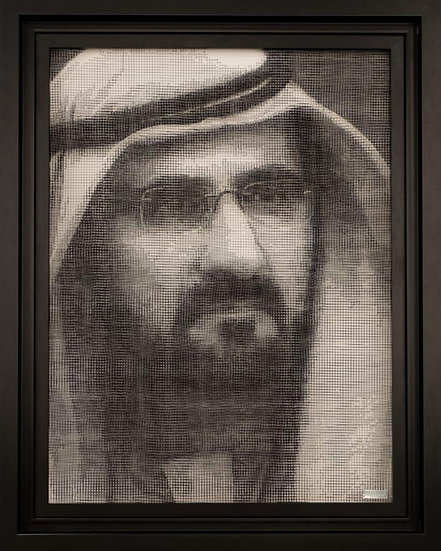 J-M Collell - H.H. SHEIKH MOHAMMED 02