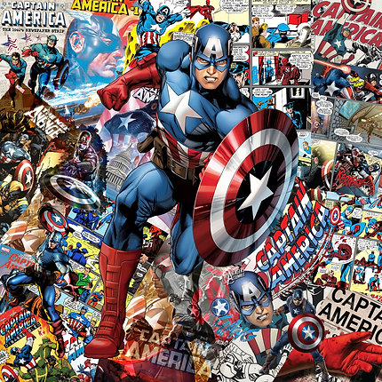Lily Pop -Captain America