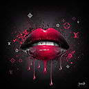 PINK cherry-(back black) 100X100.jpg