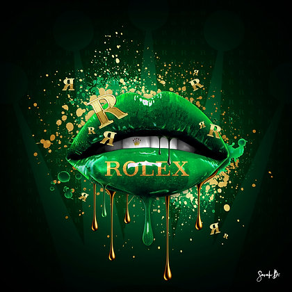 Sarah Borderie - Glossy Lips Rolex n*2/8