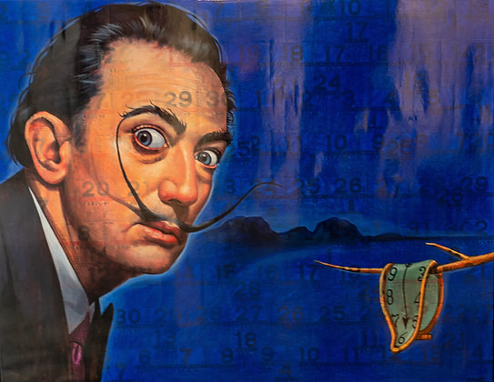 Puritat Deangharm -Dali in Blue