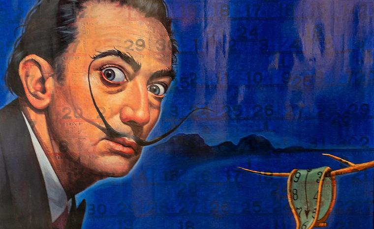 Puritat Deangharm -Dali in Blue