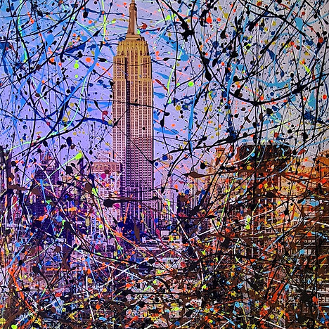 TED KEENS - EMPIRE STATE BUILDING