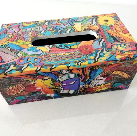 LILLY POP -STREET ART TISSU BOX