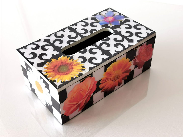 LILLY POP - FLOWER TISSU BOX