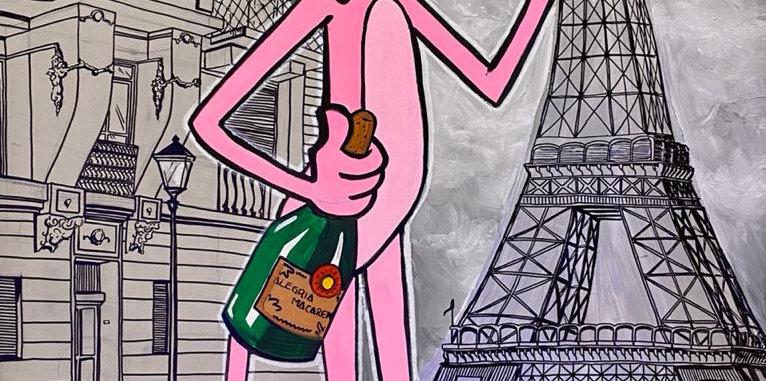 Rian Betina - Paris in Rose