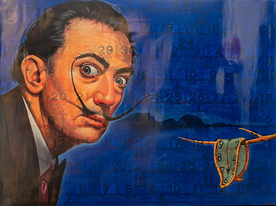 Puritat Deangharm - DALI IN BLUE